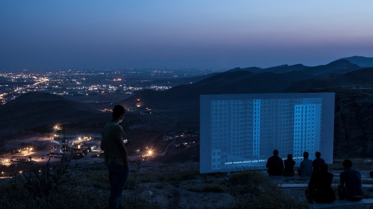 So long after sunset and so far from dawn, Mardin biennial, may 2015
