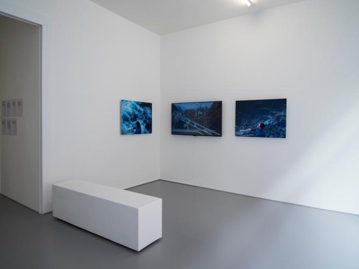 La forme de son corps..., Galerie Laurence Bernard, mars 2017